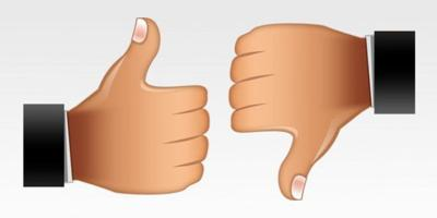 Thumbs Up Thumbs Down It S Your Choice Thumbs Victoriaadvocate Com Joypixels organizes thumbs down within the smileys & people category. thumbs up thumbs down it s your