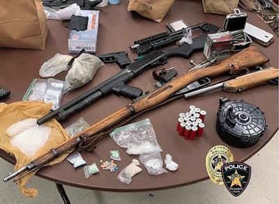 drug gun bust august 11 2020 victoria police