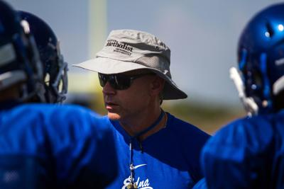 Edna football coach charged with improper relation with student