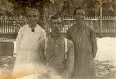 My history: Mary Elizabeth Stewart Alley with John W. Lantrip and Mattie Alley Lantrip