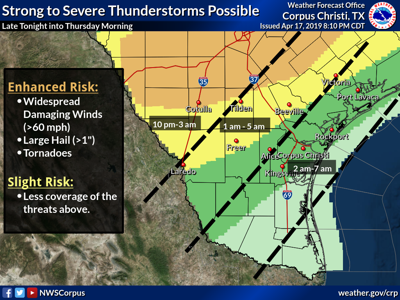 Powerful storms to sweep Crossroads tonight | Weather ... on katy texas weather map, nashville tennessee weather map, schlitterbahn corpus christi map, edinburg texas weather map, denton texas weather map, midland texas weather map, corpus christi city map, austin texas weather map, columbus ohio weather map, houston texas weather map, orlando florida weather map, corpus christi on a map, dallas texas weather map, corpus christi tx map, orange texas weather map, baton rouge louisiana weather map, lubbock texas weather map, corpus christi road map, cleveland ohio weather map, corpus christi zip code map,