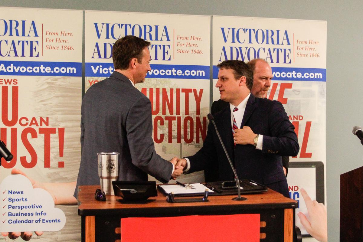 Cloud, Bruun spar in heated Victoria debate weeks before runoff
