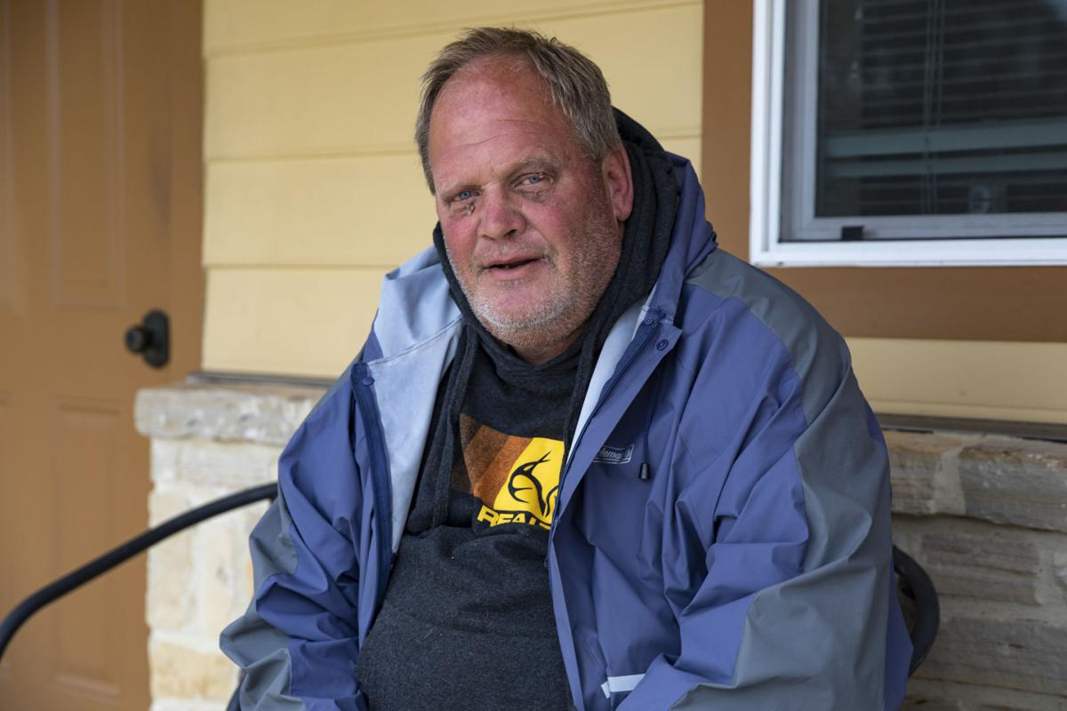 David Frankson at Gulf Bend Center Wellness Community