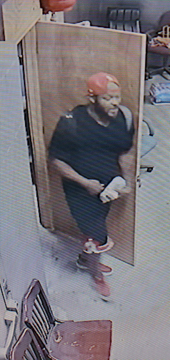 Game room robbery suspect