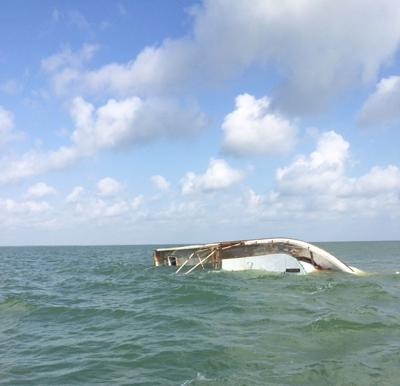 Coast Guard rescues three mariners after shrimping vessel takes on water