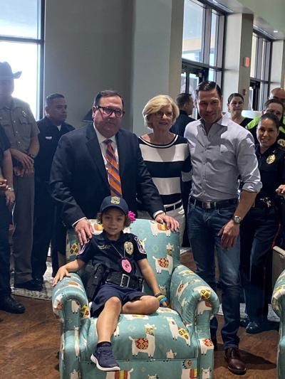 Kamin Furniture donates chairs to young cancer patient