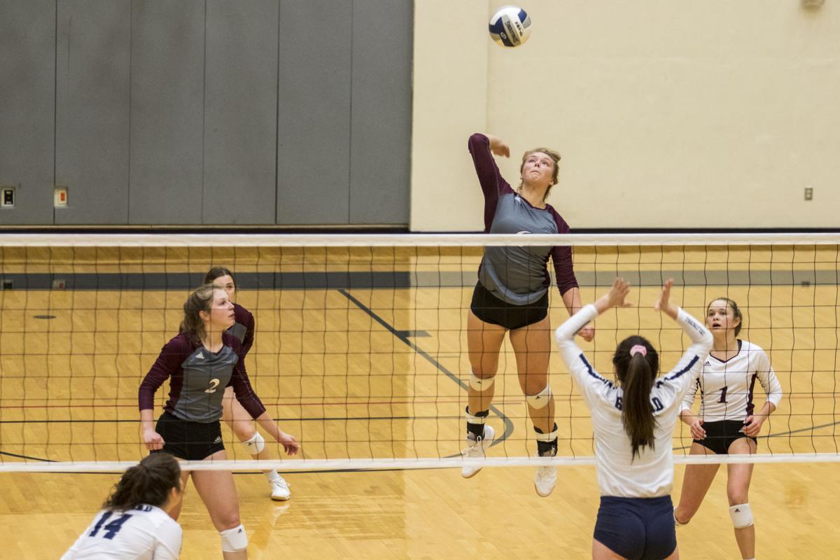 Industrial vs. Goliad Volleyball
