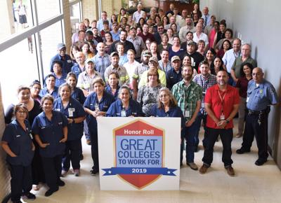 VC earns national 'Great Colleges to Work For' recognition third year in row