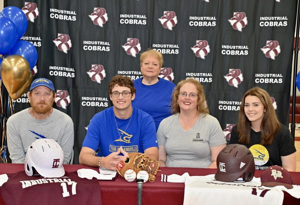 Industrial's Rogers signs with Texas A&M-Kingsville
