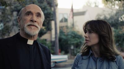 Tony Amendola and Linda Cardellini in 'The Curse of La Llorona'
