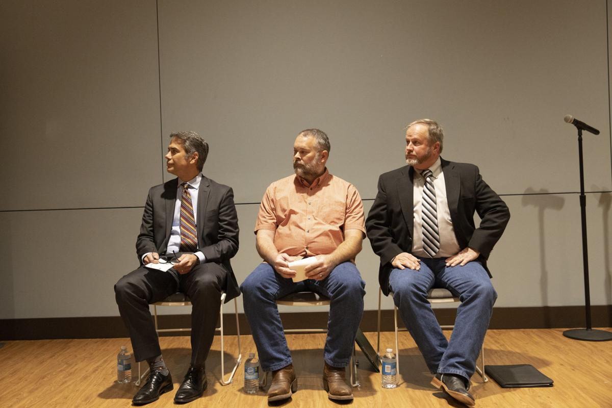 VISD candidates offer thoughts on school merger, future during debate