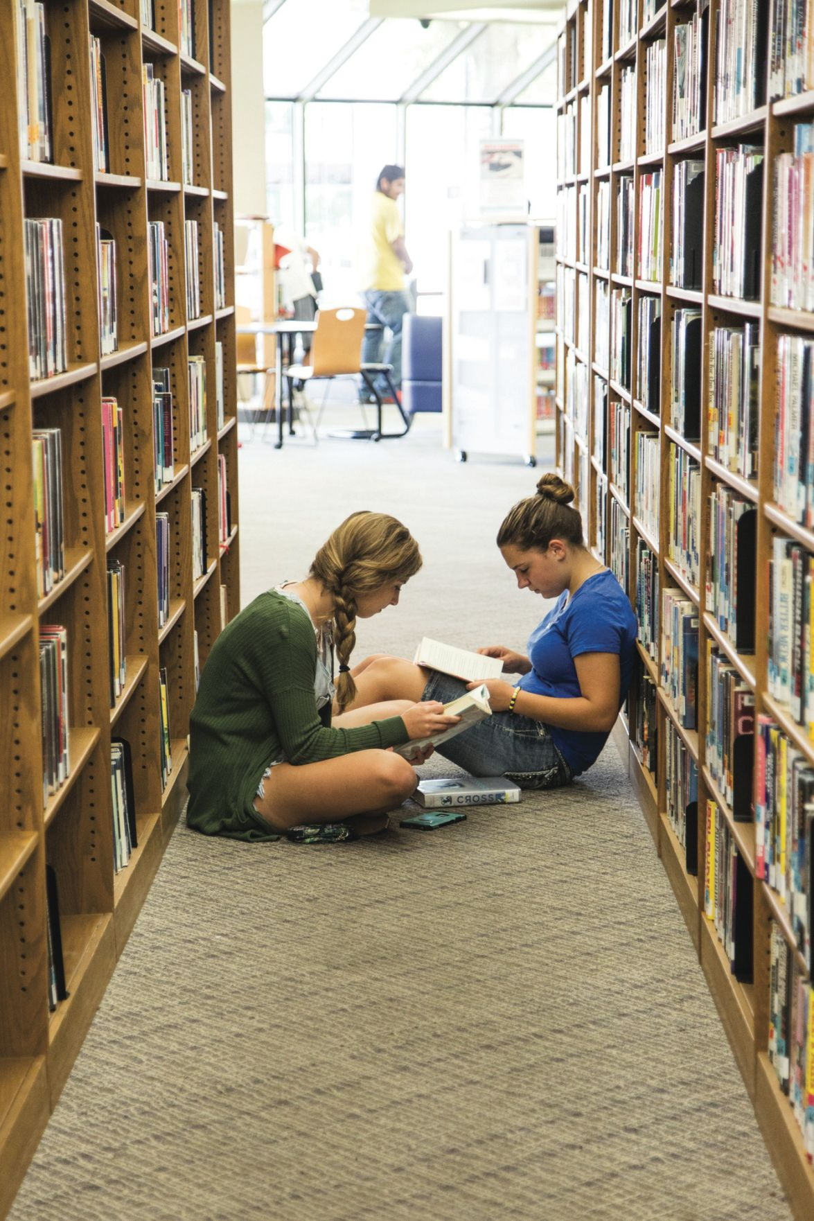 More people using Victoria library (w/video)