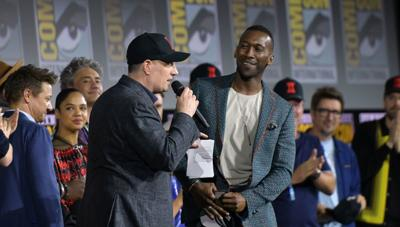 President of Marvel studios Kevin Feige announces two-time Oscar winner Mahershala Ali as the new Blade