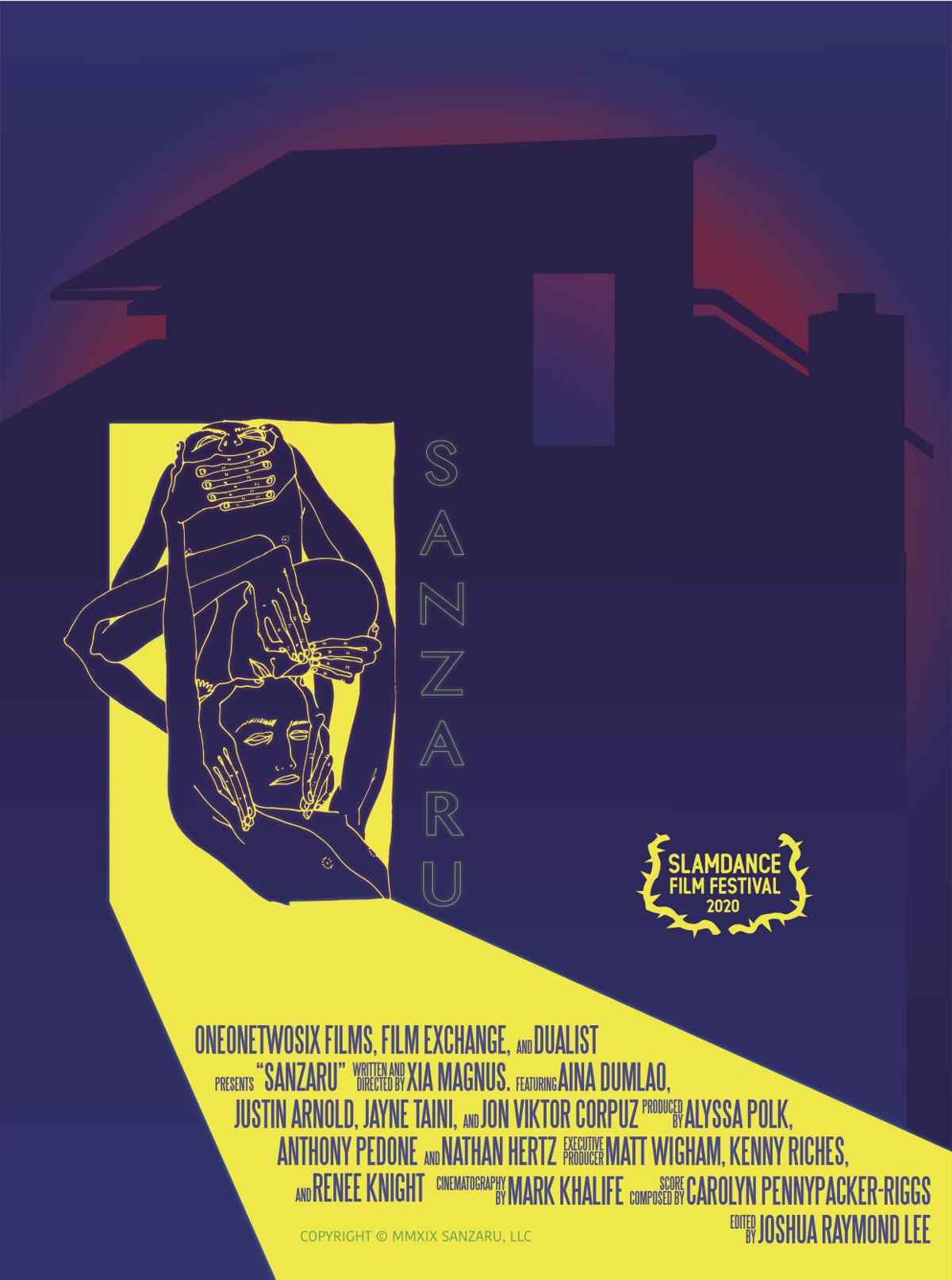 'Sanzaru' movie poster