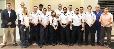 Twelve graduate from VC's EMT Course