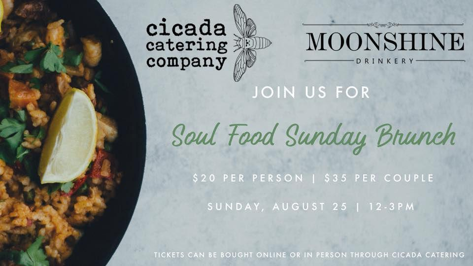 Pop Up Brunch with Cicada Catering at Moonshine Drinkery