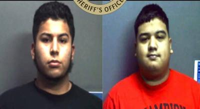 Two men arrested on human smuggling charges