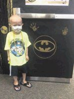 Superhero fun run planned for cancer-fighting child