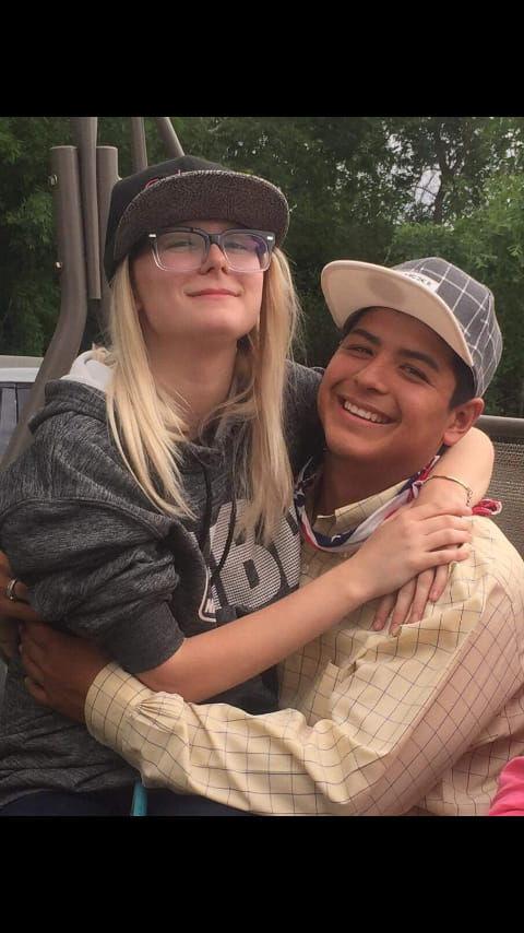 Brianna Bexley and Nathan Cortinas
