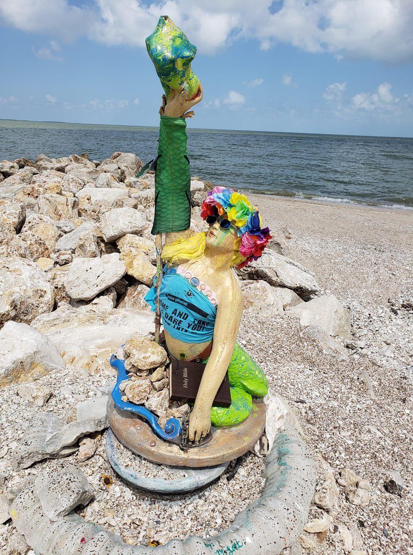 Mermaid sighting has Magnolia Beach buzzing
