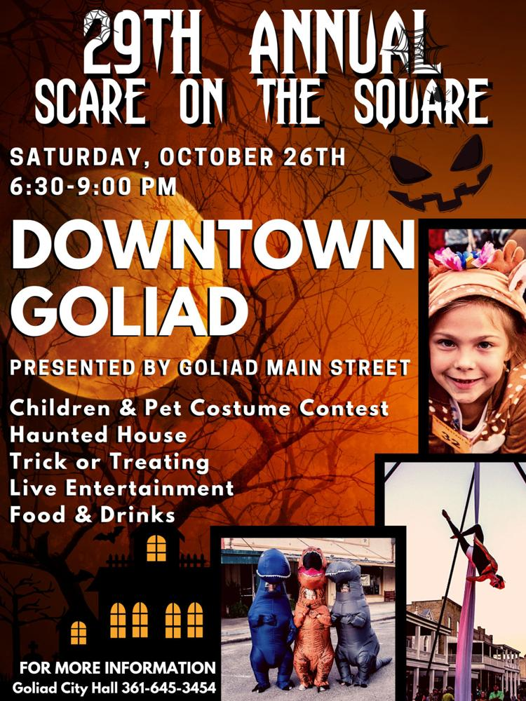 Goliad Scare on the Square