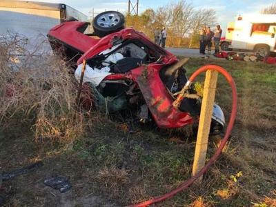 Alamo man, 30, killed in crash on FM 1593 in Jackson County