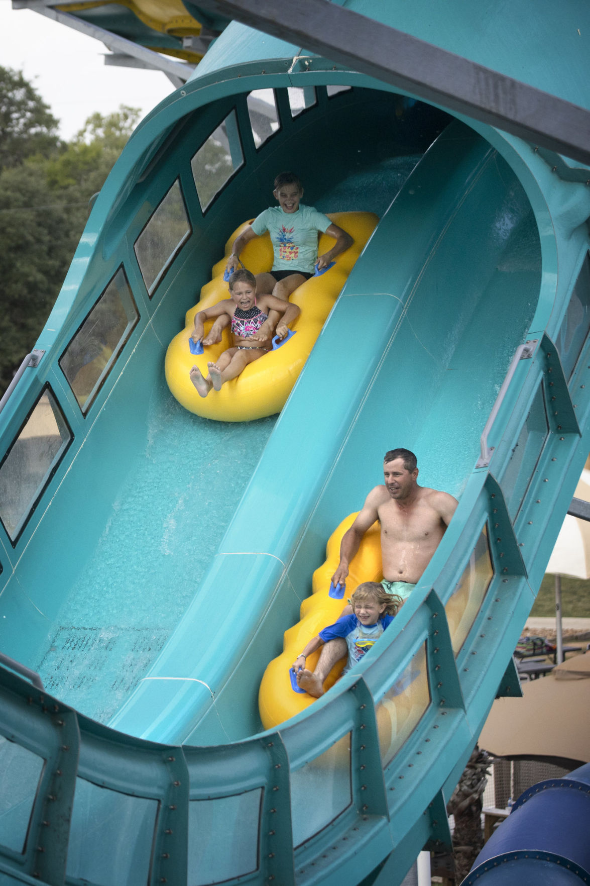 Splashway opens new water coaster
