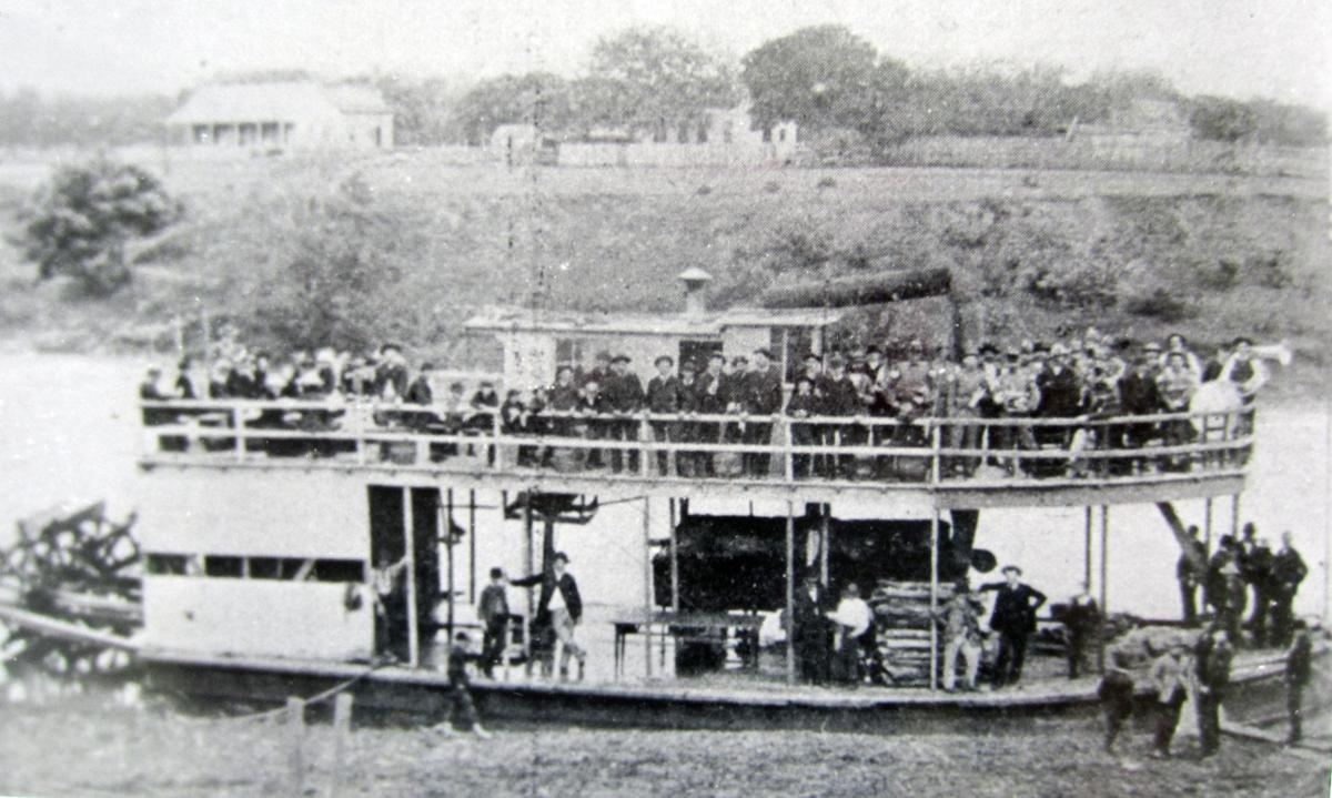 Steamboats once traveled down Guadalupe River