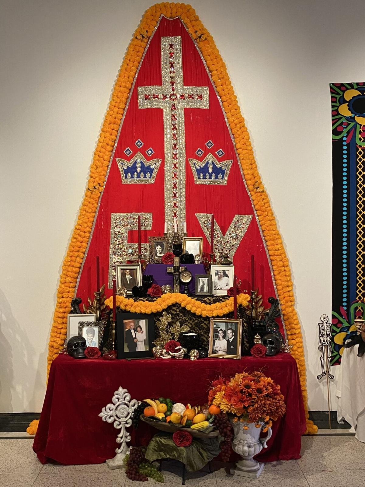 One of the altars on display at the Nave Museum