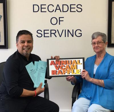 VCAM holding fundraising raffle