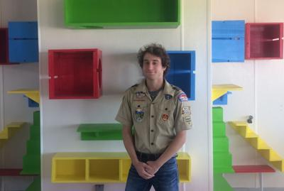 Victoria Scout Rebuilds Cat Playroom At Dorothy O Connor Opinion Victoriaadvocate Com