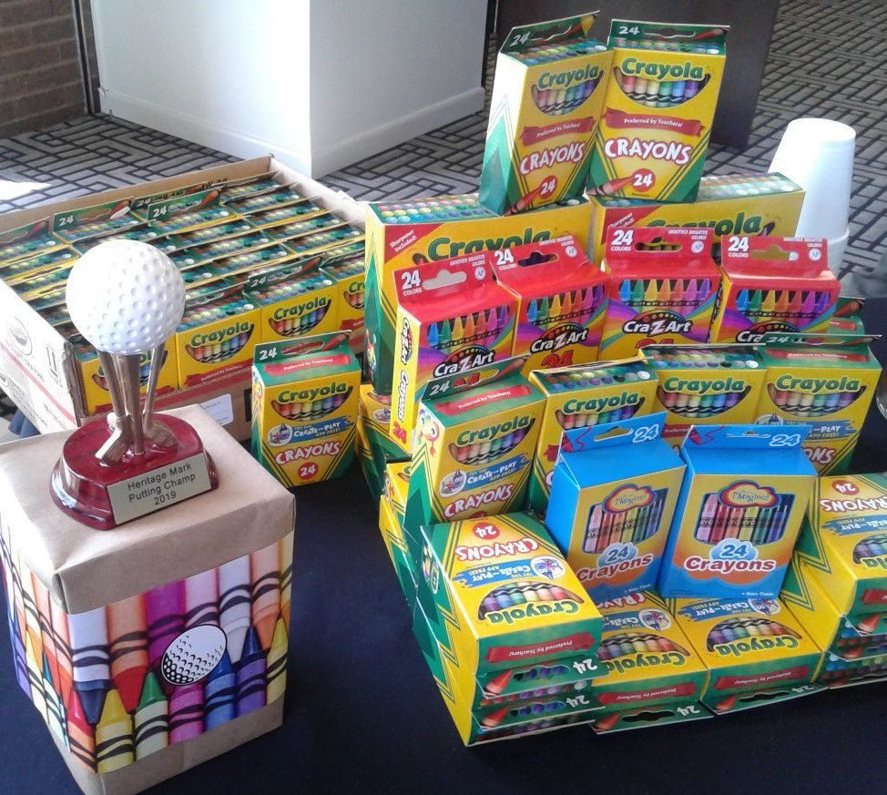Heritage Mark celebrated National Crayon Collection Month