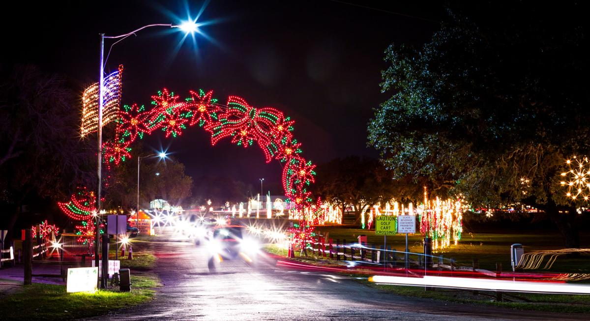 Christmas In The Park.Christmas In The Park To Light Up Cuero Counties