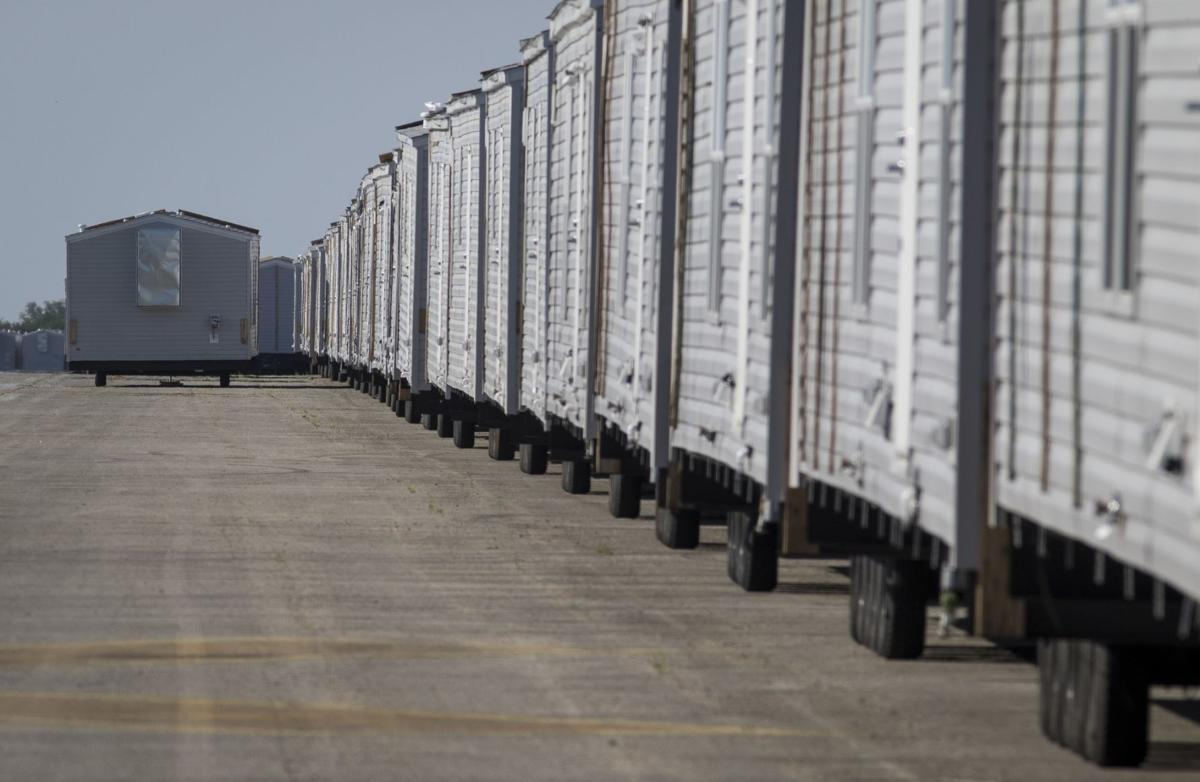 Almost 2,600 FEMA trailers, RVs sit unused in Beeville (w