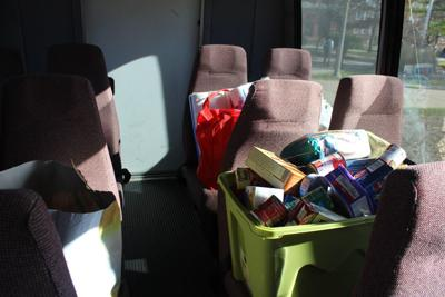 Annual Stuff the Bus event to benefit Children's Home & Aid Crisis Nursery