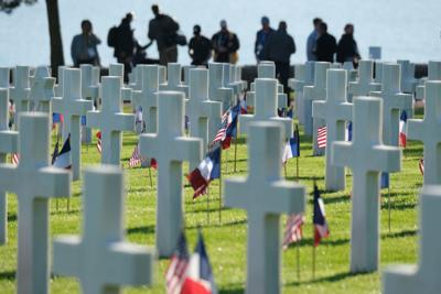 D-Day, 75 years later: 'They won back this ground for civilization'.