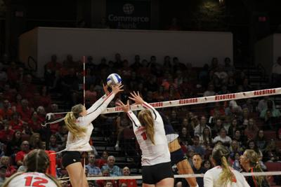 ISU volleyball loses two matches in first day of Buckeye Invite