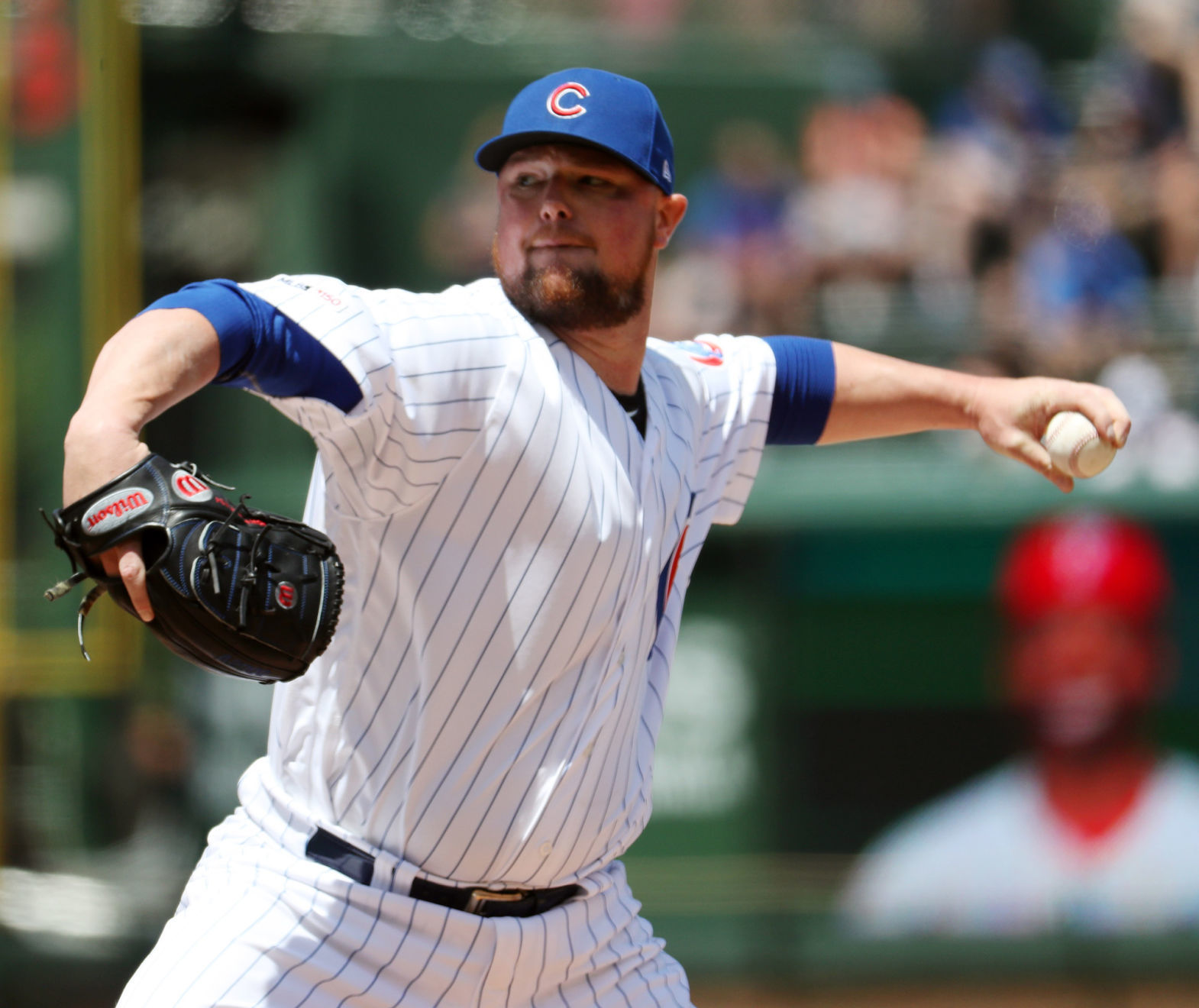 Lester unfazed by 'panic' among Cubs fan