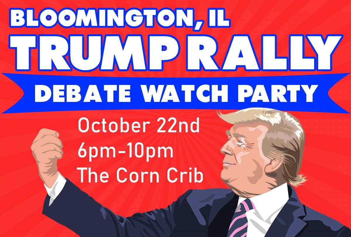 trump rally debate watch party flyer cropped