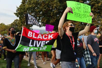 Black Girl Gode march and vigil_6_02242020