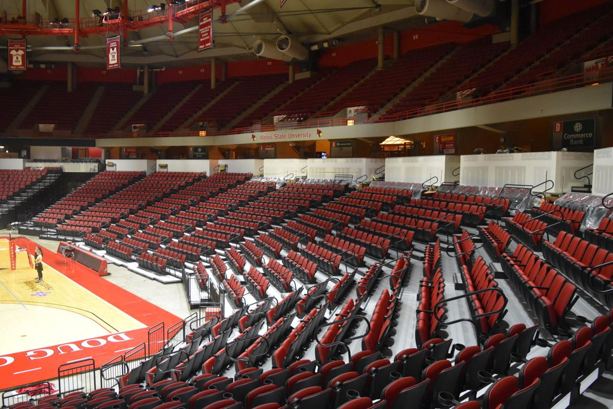 Redbird Arena new seats