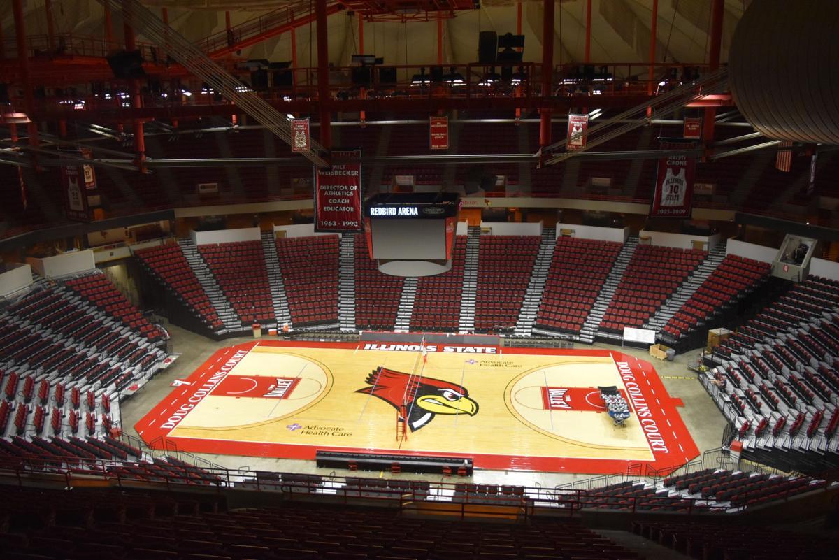 Fish-eye Redbird Arena