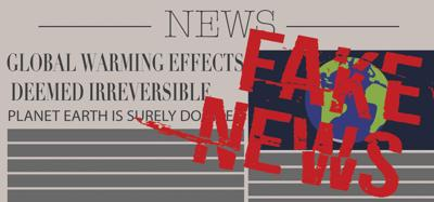Fake News editorial art