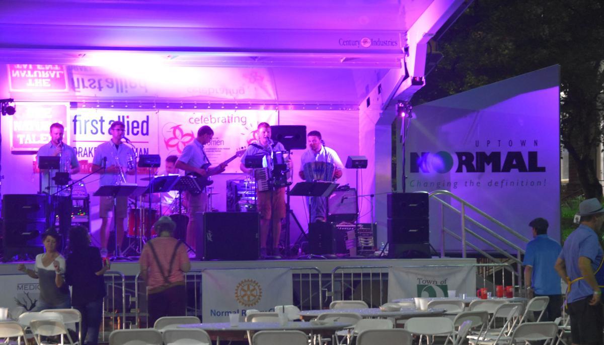 Oktoberfest live music in Uptown
