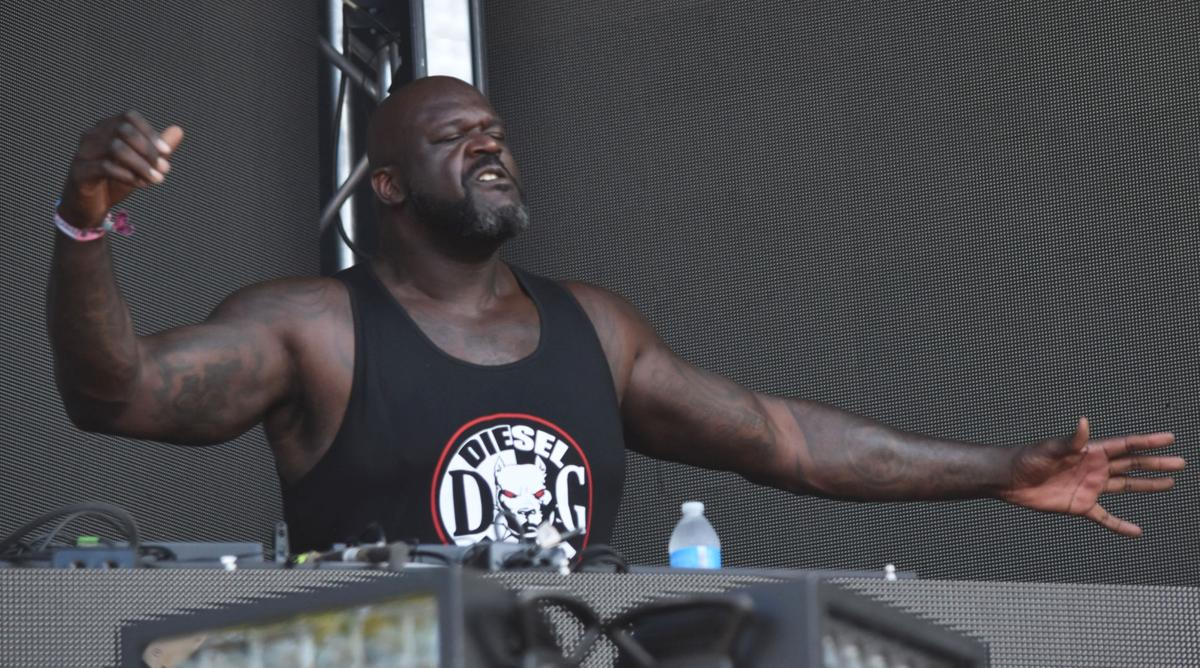Lollapalooza Shaquille O'Neal