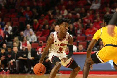 Freshman DJ Horne looks to 'play older' ahead of Arch Madness