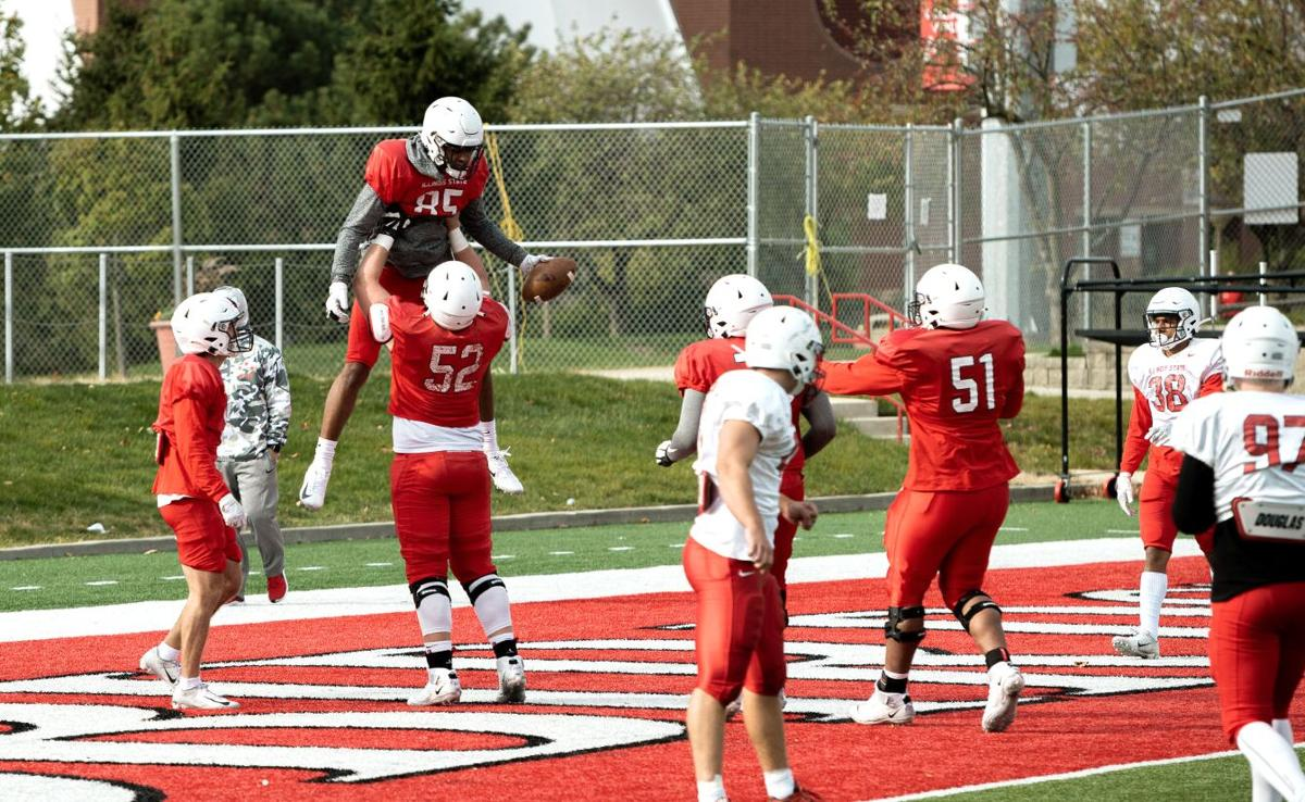 Redbird Football scrimmage-11