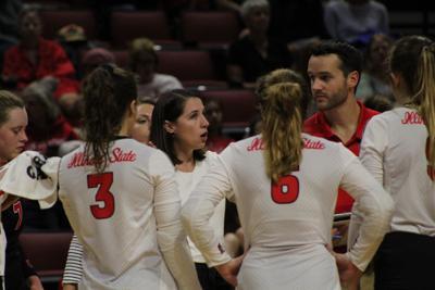 Bradley upsets ISU in rivalry volleyball matchup