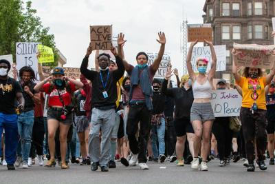 'Enough is enough': BloNo community shares their experience with police brutality at downtown protest