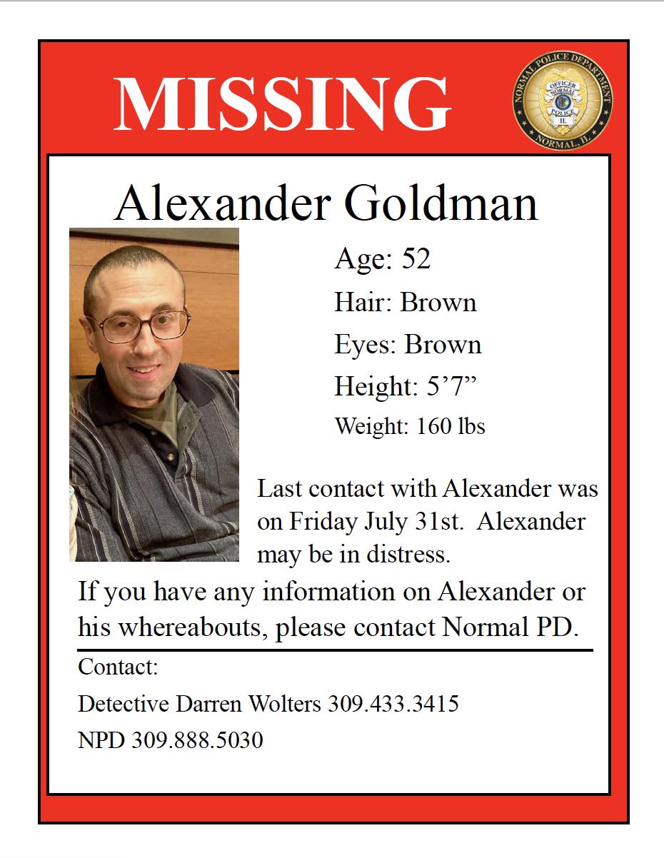 missing goldman flyer